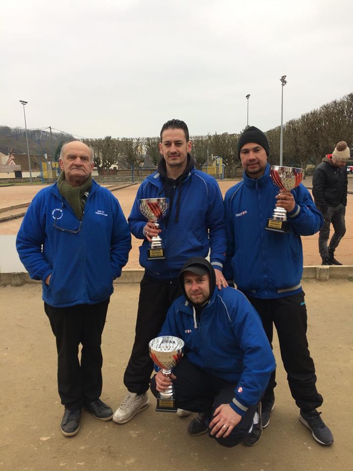 Champions triplette promotion